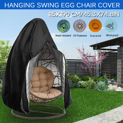 Swing Chair Cover For Hanging Hammock Stand Egg Wicker Seat Patio Garden  • 18.24£