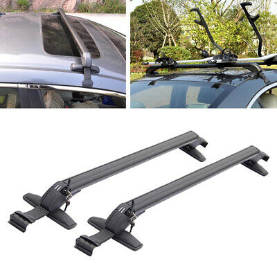$154 • Buy Fits Aluminum Car SUV Roof Rail Luggage Rack Baggage Carrier Cross Anti Theft