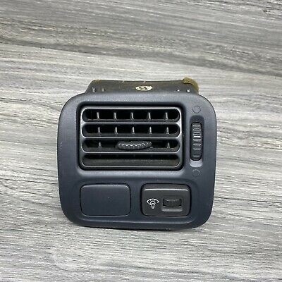 $22.95 • Buy 96-00 Civic OEM Left Side Dash Ac Vent W/ Dimmer Switch Gray 96 97 98 99 00