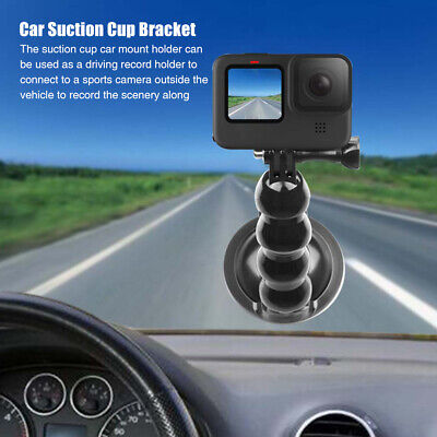 AU14.45 • Buy Accessories Car Mount Holder Suction Cup ABS Extension For GOPRO Hero 9