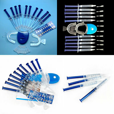 AU19.76 • Buy Home Teeth Whitening Tool Set Tooth Whitener Bleaching Laser Strong Dental Gel