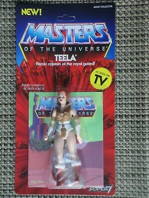 $30 • Buy Masters Of The Universe Teela Action Figure MOC Super 7 Vintage Series