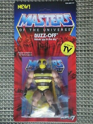 $35 • Buy Masters Of The Universe Buzz-Off Action Figure Super 7 Vintage Series MOC