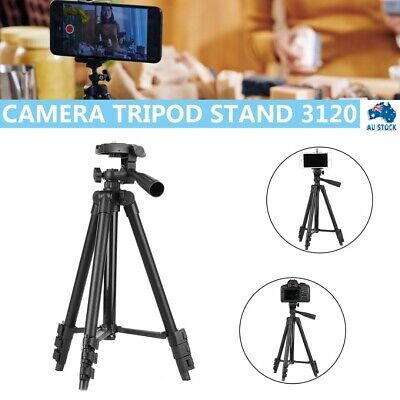 AU11.99 • Buy New Camera Tripod Stand Mount Remote + Phone Holder For IPhone Samsung AUS