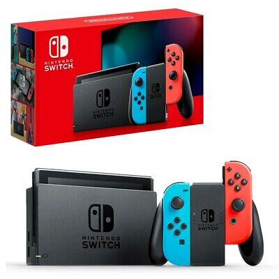 AU455.95 • Buy Nintendo Switch Neon Console NEW + Mario Kart 8 + Animal Crossing