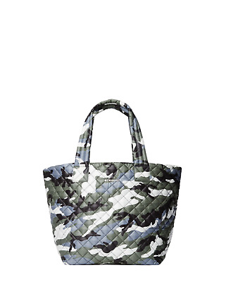 AU301.49 • Buy NWT MZ Wallace Medium Quilted Metro Bag Tote Ocean Camo