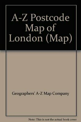 £6.77 • Buy A-Z Postcode Map Of London, Geographers A-Z Map Company, Used; Good Book