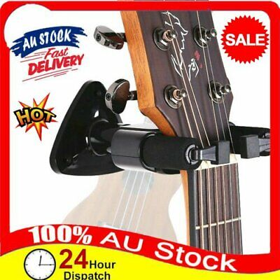 AU13.34 • Buy Guitar Ukulele Bass Hanger Holder Wall Mount Stand Rack Short Slotted Hook LF