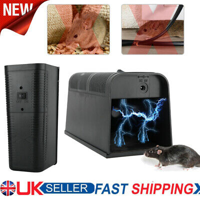 £34.25 • Buy Electronic High Voltage Rat Trap Control Electric Shock Mice Mouse Rodent Killer
