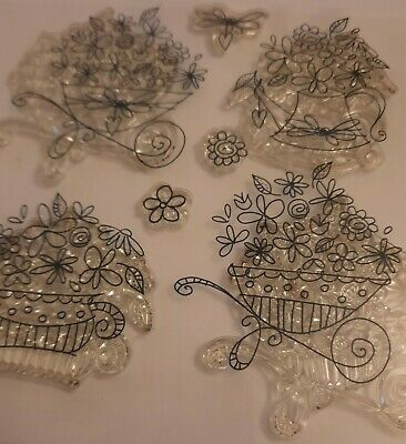£2.99 • Buy Clear Rubber Stamps. Floral Displays.