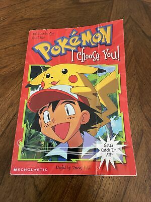$4.95 • Buy I Choose You! (Pokemon Chapter Books) By Scholastic Books - First Printing