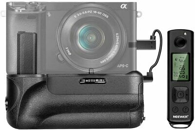 AU123.39 • Buy Newer 2.4G Vertical Battery Grip Compatible With Sony A6300 A6000 A6400