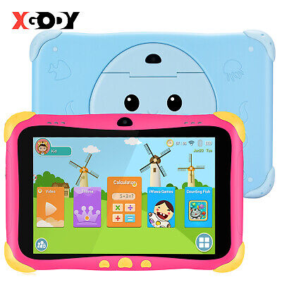 AU72.82 • Buy XGODY 7  Android 8.1 Tablet PC For Children Quad-core Wifi 1GB+16GB Dual Camera