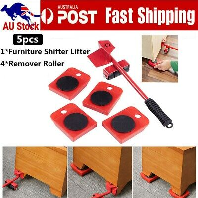 AU15.99 • Buy Furniture Lifter Heavy Roller Move Tool Set Moving Wheel Mover Sliders Kit
