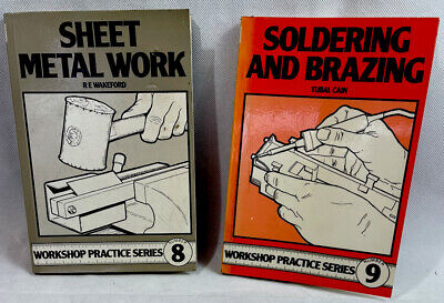 £14.99 • Buy Workshop Books Soldering And Brazing By Tubal Cain & Sheet Metal By R E Wakeford