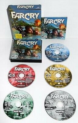 AU26.69 • Buy Far Cry Game Complete With Manual By Ubisoft 2004 - 5-Disc CD-ROM For PC Windows