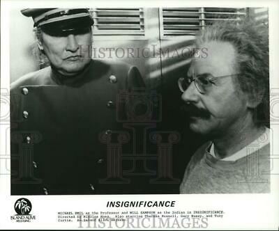 $ CDN17.44 • Buy Press Photo Michael Emil And Will Sampson Star In  Insignificance.  - Hcq31802