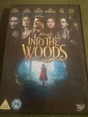 £1.40 • Buy Into The Woods (DVD, 2015)