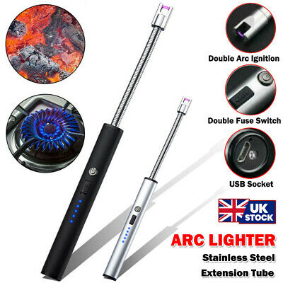 £12.99 • Buy BBQ Lighter Electric Ignition Flameless Kitchen Cooker USB Rechargeable Lighters
