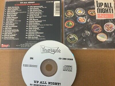 Cd Album Compilation : Various : Up All Night ! : 30 Northern Soul Classics • 6.99£