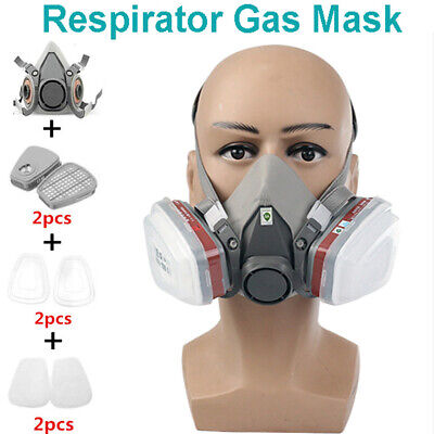 £18.95 • Buy Dust-proof Dust Half Face Mask Respirator Filter Cotton For Industrial Protect