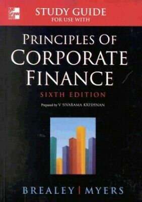 £3.49 • Buy Principles Of Corporate Finance: Student Study Gu... By Myers, Stewart Paperback
