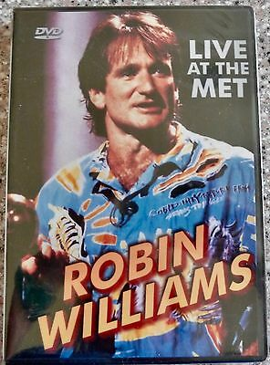 Robin Williams LIVE AT THE MET DVD, 1986 Hilarious Sealed NEW, Region 1 • 35.77£