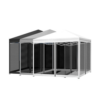 AU185 • Buy Mountview Gazebo 3x3 Marquee Pop Up Tent Outdoor Canopy Wedding Mesh Side Wall