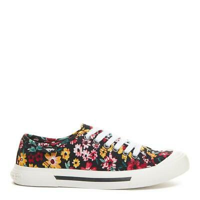 £22.50 • Buy Rocket Dog Jumpin Women's Floral Print Cotton Comfort Lace-Up Sneaker Trainer