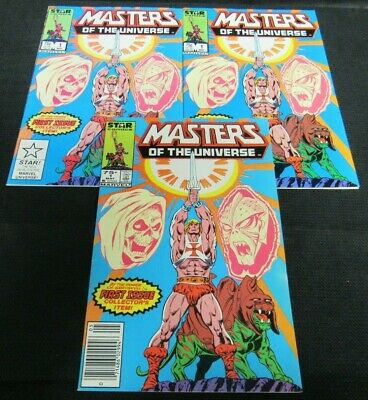 $52.95 • Buy (3) Masters Of The Universe #1 (1987) Marvel He-Man VG/FN To FN+ JM513
