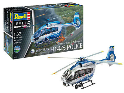 Revell 04980 Kit Helicopter Airbus H145 Police 1:3 2 • 18.31£