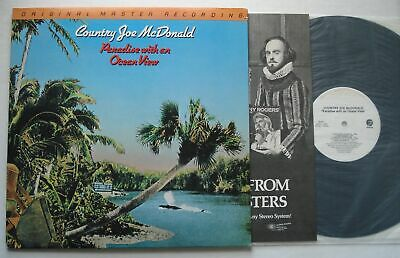 COUNTRY JOE McDONALD Paradise With An Ocean MOBILE FIDELITY MFSL Audiophile LP • 21.18£