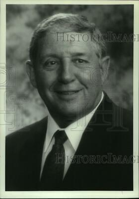 $ CDN25.20 • Buy Press Photo Barney Wachtel, President And CEO, Russell Athletic - Abns08353