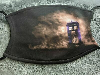£6.50 • Buy Doctor Who Smoke Tardis Face Mask Covering Washable/Filter Gift Adult/Children's