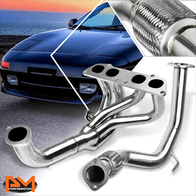 AU111.73 • Buy For 90-95 MR2 Non-Turbo SW20/5SFE 2.2L Stainless Steel Exhaust Header Manifold