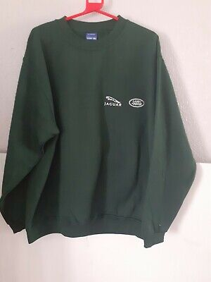 Jaguar Land Rover Sweat Shirt New In Green Size 2 Xl  Round Neck Long Sleeves  • 12£