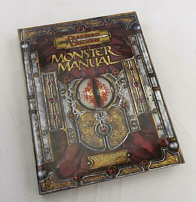 AU68.39 • Buy Dungeons & Dragons Monster Manual Core Rulebook III V.3.5 (WOTC, 2003)