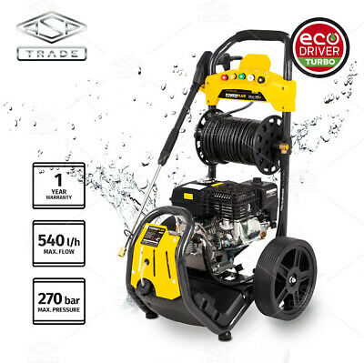 Petrol Pressure Washer - 3500PSI / 240BAR Power Jet Cleaner Designed By Germany • 285£