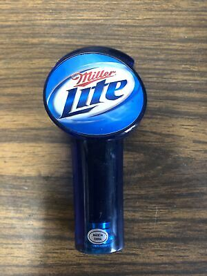 $14.99 • Buy Miller Light Beer Pull Tap Handle Man Cave Home Bar American Light Style Lager