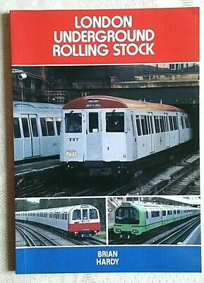£4 • Buy London Underground Rolling Stock By Brian Hardy