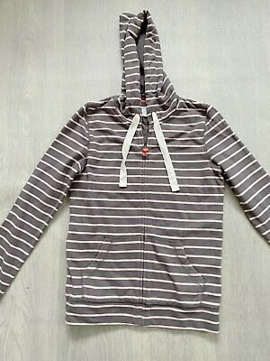 £15.99 • Buy BODEN  Pewter / Pink  Classiic Hoody Size 6  NEW   Sample