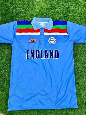 Retro England Cricket Shirt 1992 Size Small • 24.99£