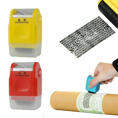 Roller Stamp Identity Privacy ID Confidential Guard Data Theft Protection • 4.99£