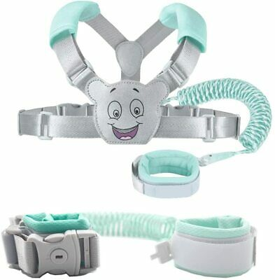 Baby Reins Walking Harness For Toddlers, Kids, Children, 3-in-1, Anti Lost Wrist • 17.98£
