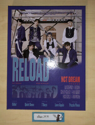 Nct Dream Reload Album Rollin' Version With Wristband • 10£