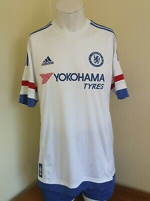 Chelsea Shirt 2015/16 Seaon White Away Football Jersey Large L  • 22.99£