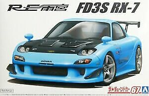 Aoshima 05626 Re Amemiya FD3S RX-7 '99 (Mazda) 1:24 Plastic Model Car Kit • 25.19£