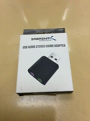 £5.99 • Buy Sabrent USB External Stereo Sound Adapter For Windows And Mac AU-MMSA