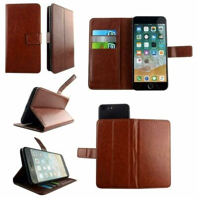 AU14.43 • Buy Premium Leather Mobile Phone Wallet Book Case For Sony Xperia XZ3 - XL