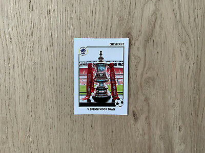 £2 • Buy Chester FC 2020/21 Limited Edition FA Cup Card #2 V Spennymoor Town